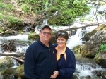 Barb and Herb Schoonover in Alaska 2006