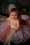 My Little Garden Fairy, Sierra Malone, granddaughter of Jeannie Wooldridge Malone