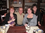 Ruth, Chris, Barb and Jeannell on the Norwegian Jade